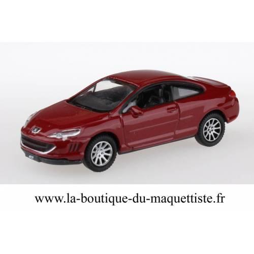 Peugeot 407 rouge HO
