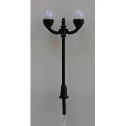 CANDELABRE DOUBLE GLOBE  70mm