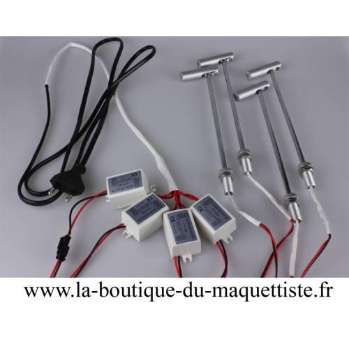 LED SPOTS ECLAIRAGE (INT)4 PCS