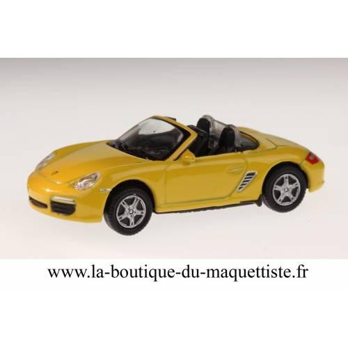 Porsche Boxter S jaune