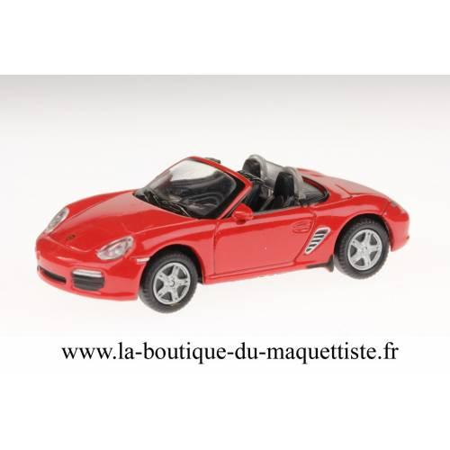 Porsche Boxter S rouge