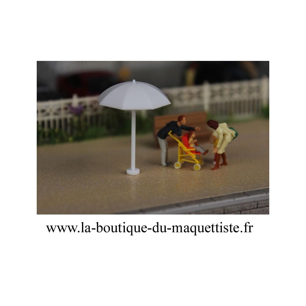 parasol abs 1 87 pour maquette