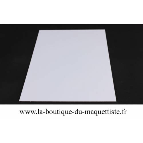 PLAQUE  ABS 1 MM  LISSE -S