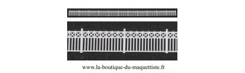 Barrière HO échelle 1/87